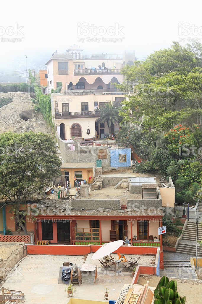 Barranco District - Lima, Peru royalty-free stock photo