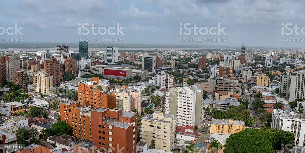 Barranquilla Cityscape - foto de stock