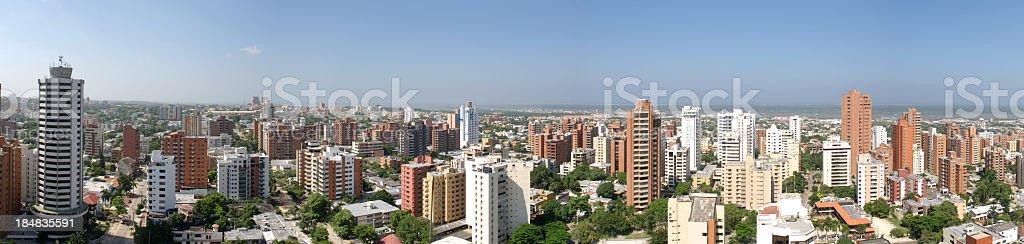 Barranquilla Panorama - foto de stock