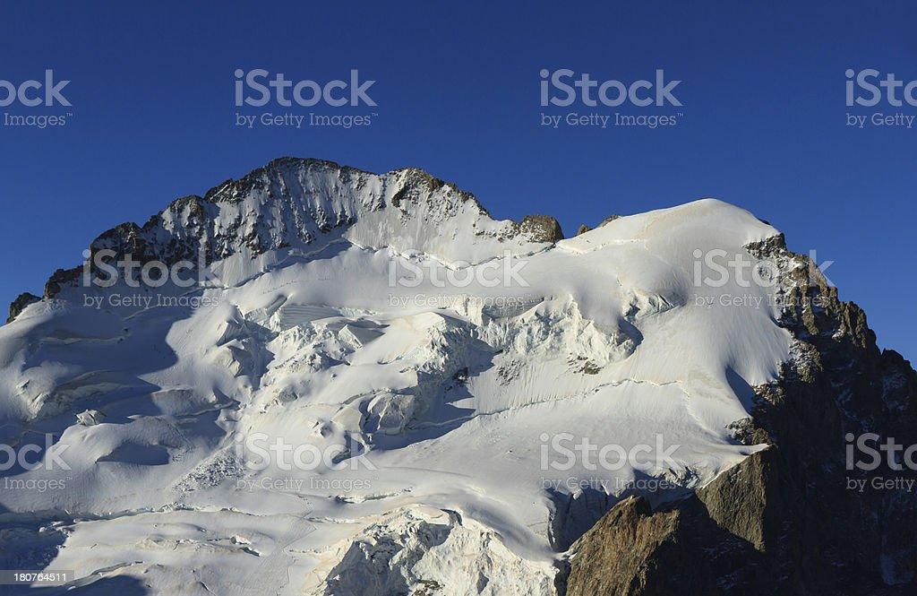 Barre des Ecrins stock photo