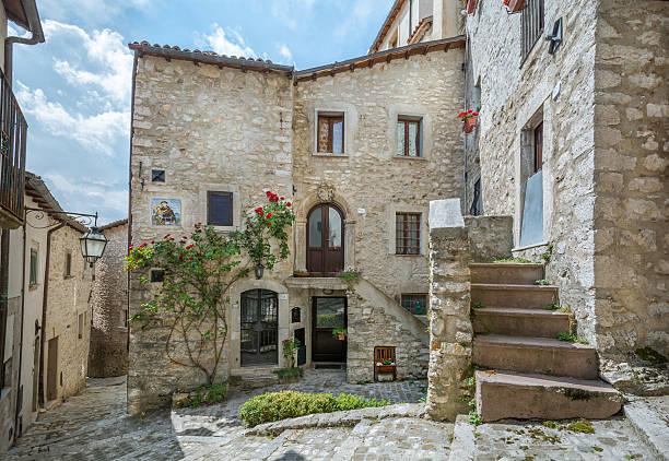 Barrea, L'Aquila Province, Abruzzo (Italy) - foto de stock