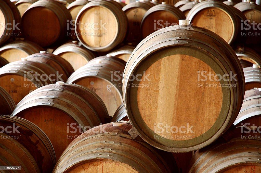 Barrel Abstract II royalty-free stock photo