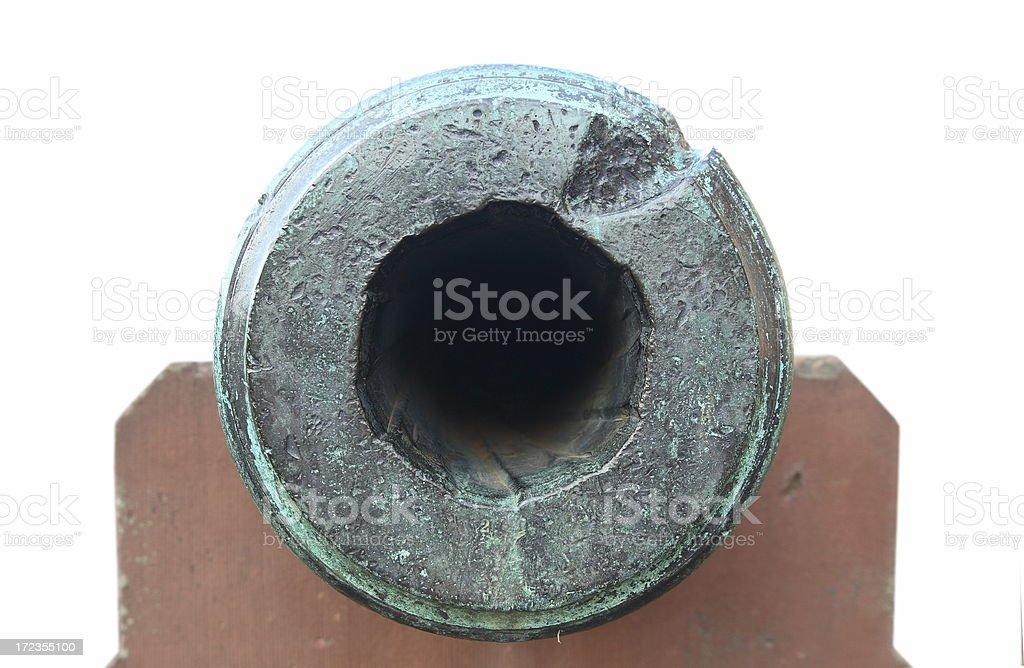 Cilindro de Cannon foto de stock libre de derechos