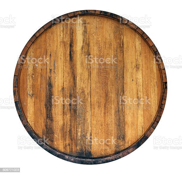 Barrel isolated on white background
