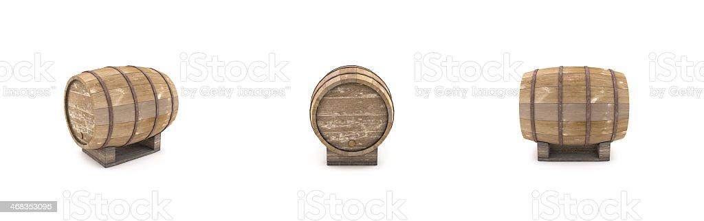 barrel wine royalty-free stock photo