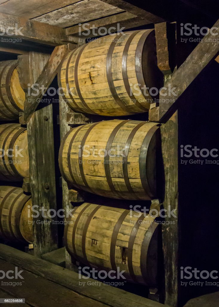 Barrels from Angle View stock photo