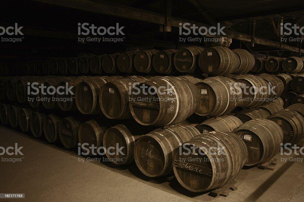 Barrels royalty-free stock photo