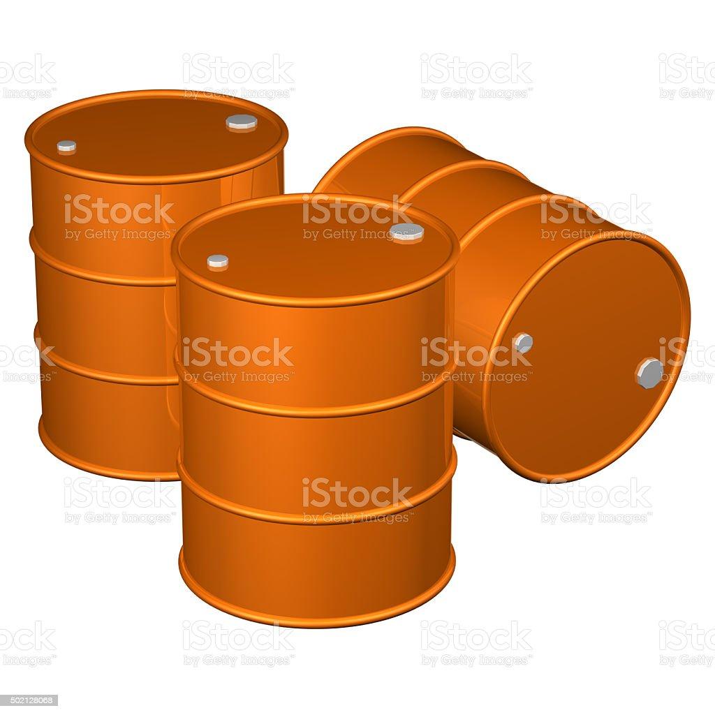 Barrels stock photo