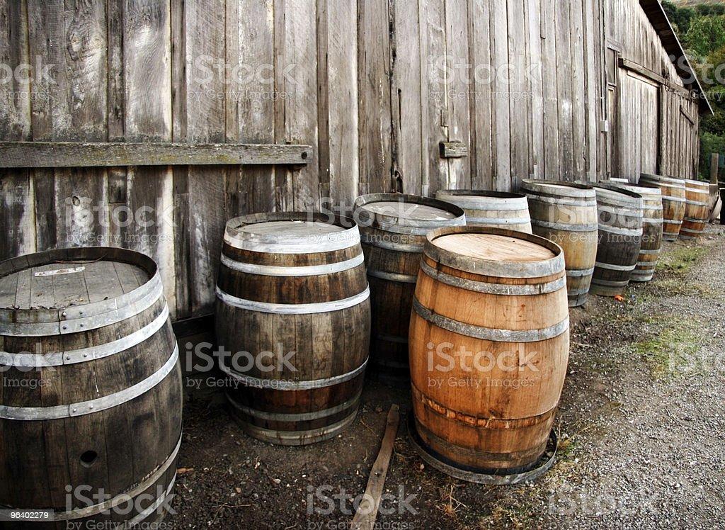 Barrels - Royalty-free Abandoned Stock Photo