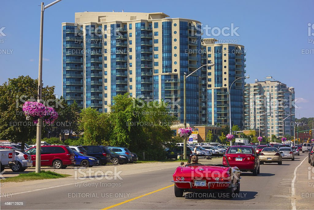Barrie, Ontario, Canada stock photo