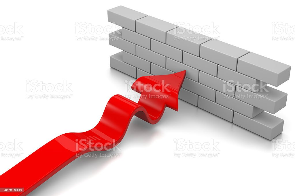 Barrier stock photo