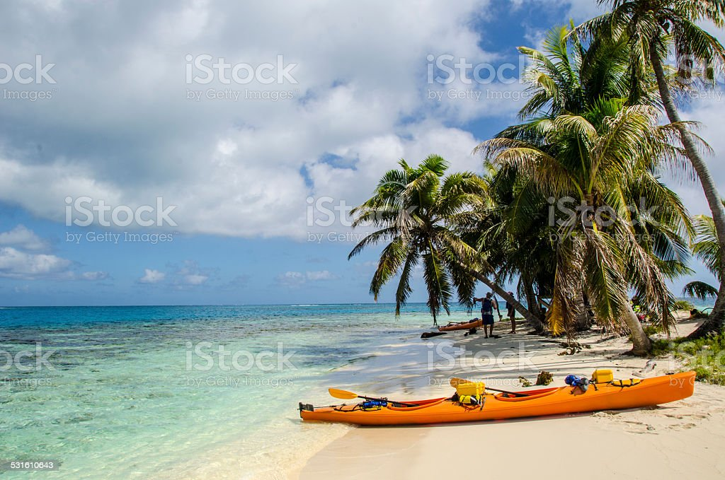 Barrier Reef Island Stop stock photo