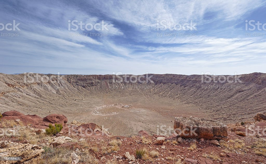 Barringer Crater stock photo