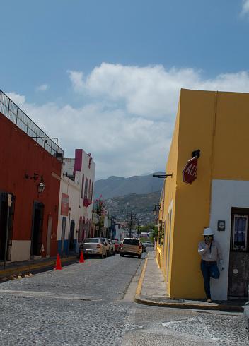 Barrio Antiguo in the Center of the City of Monterrey