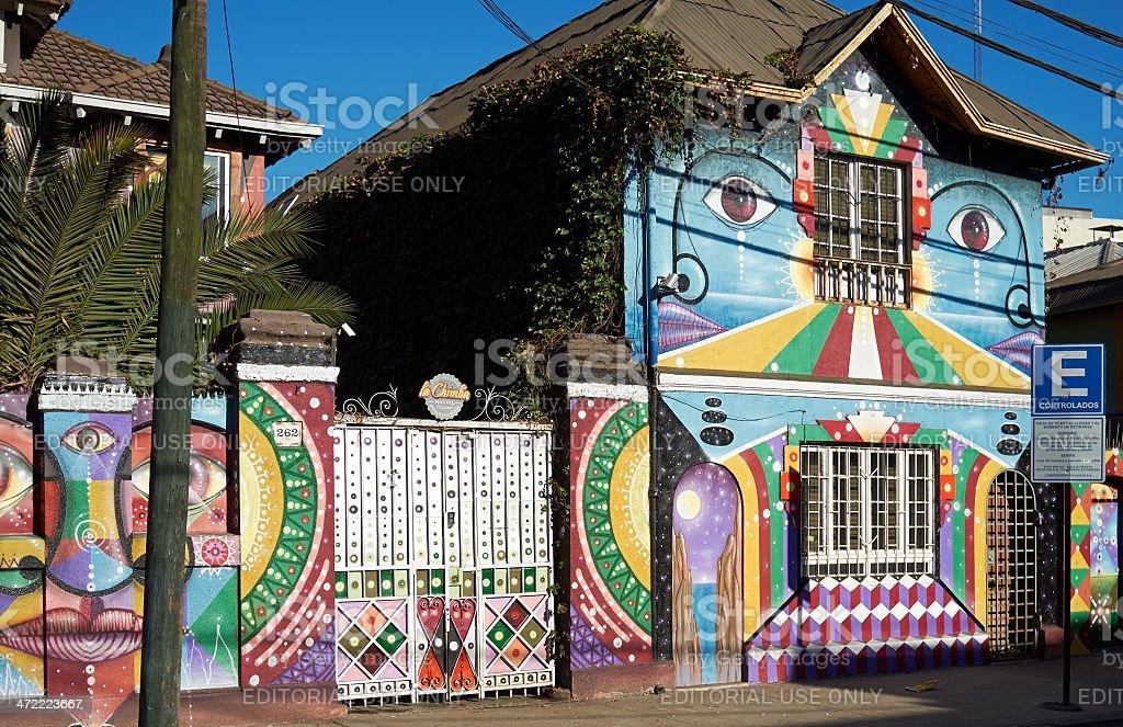 Barrio Bellavista stock photo