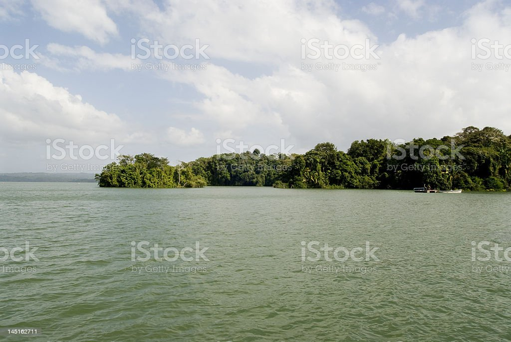 Barro Colorado Island stock photo