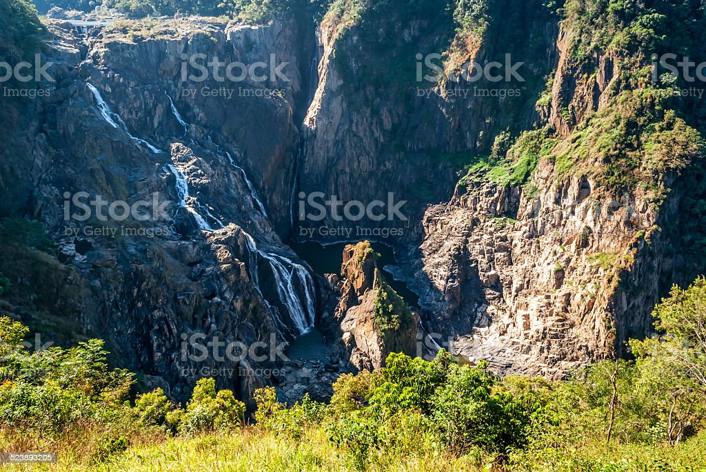 Barron Falls, Kuranda (Australia) stock photo