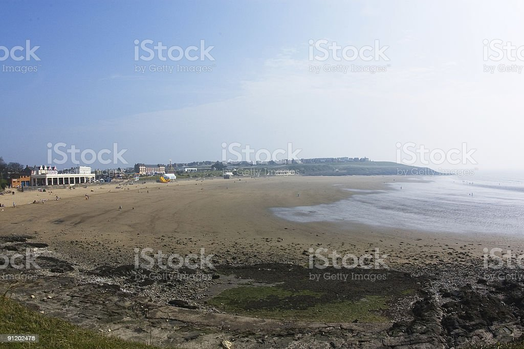 Barry Isand South Wales UK royalty-free stock photo