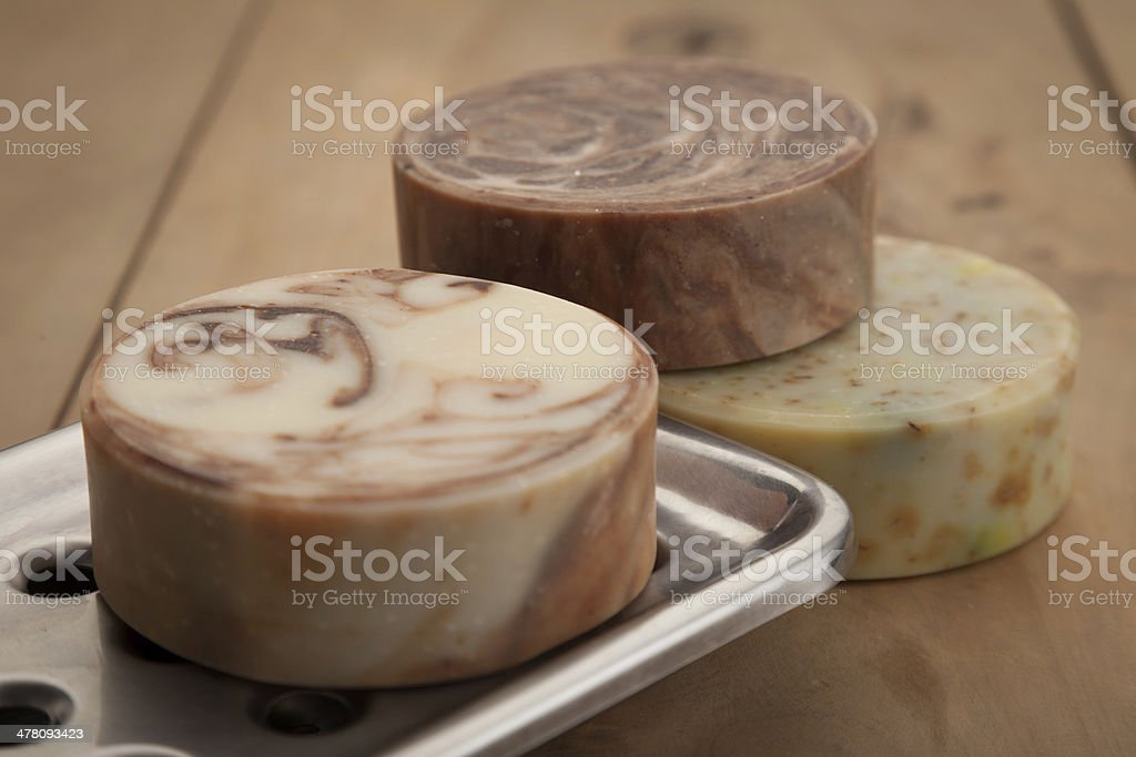 Bars of Soap royalty-free stock photo