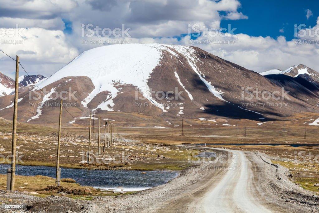 Barskoon (Arabel) Syrts at Issyk Kul Region stock photo