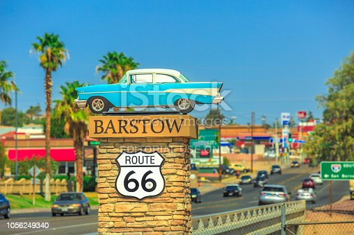 istock Barstow Route 66 entrance 1056249340