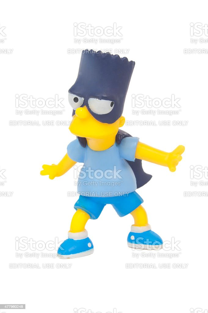 Bart Man Figurine stock photo