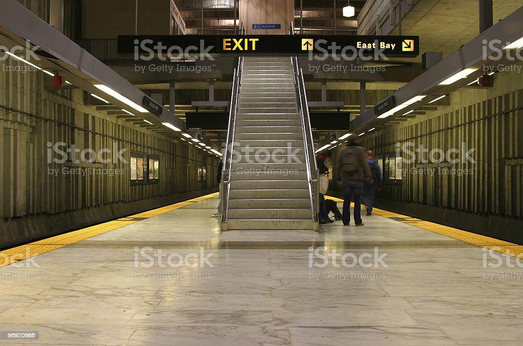 Bart Station 1 royalty-free stock photo