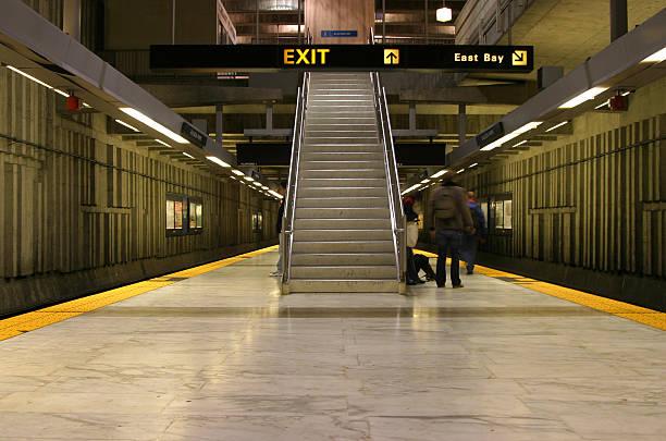 bart-station 1 - bart stock-fotos und bilder