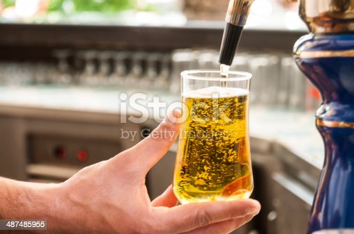 istock Bartender at work 487485955