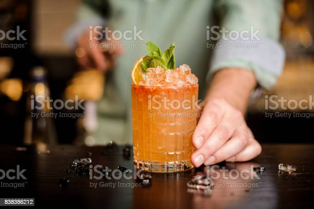 Bartender finished decorating his cocktail picture id838386212?b=1&k=6&m=838386212&s=612x612&h=smpriikgui9ykxxmfjzjhot hrdd189bf6qwzzvfyoo=