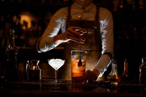Bartender stirring alcohol cocktail with a spoon picture id1164131115?b=1&k=6&m=1164131115&s=612x612&w=0&h=xtzhggt4n2q0nvageq6n3vlihy25zwiwwsmzxzqbvws=