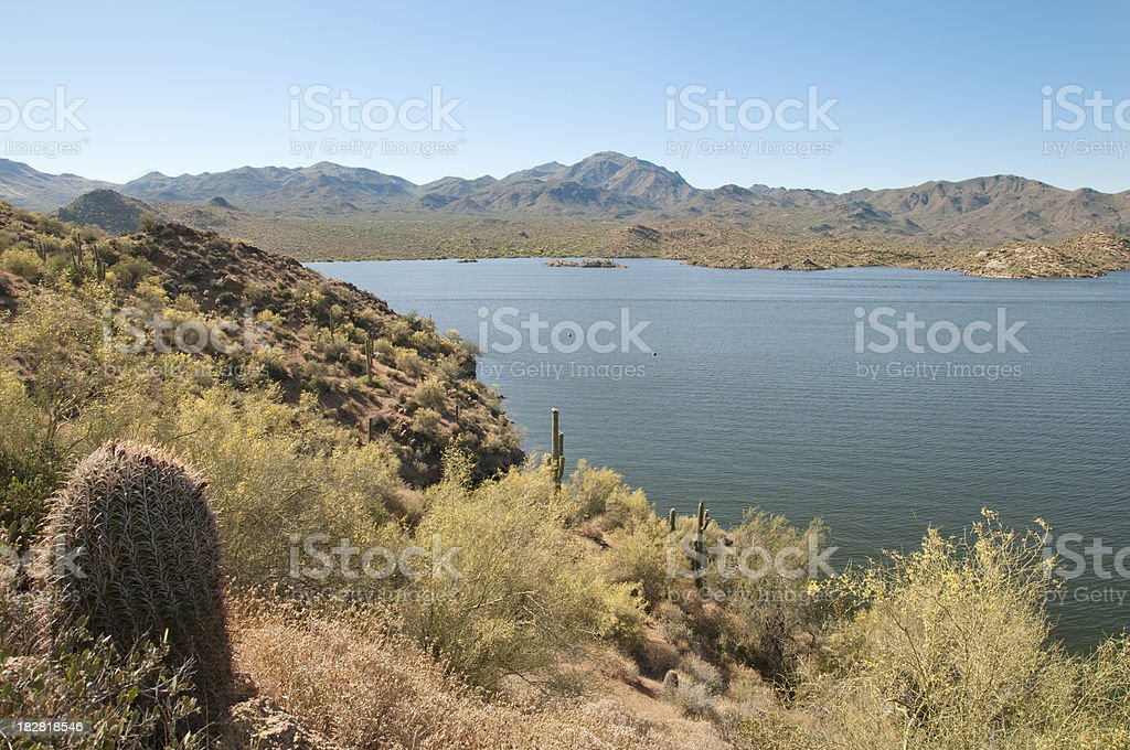 Bartlett Lake stock photo
