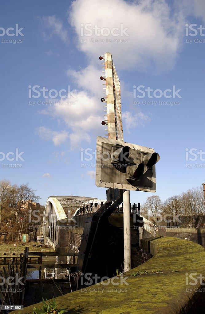 Barton Bridge royalty-free stock photo