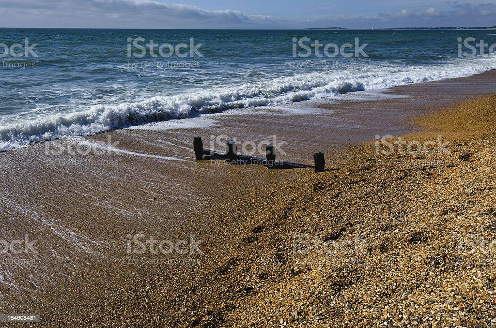 barton on sea royalty-free stock photo