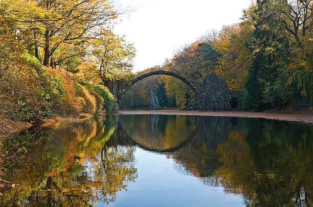 Herbst in der Kromlauer Park – Foto