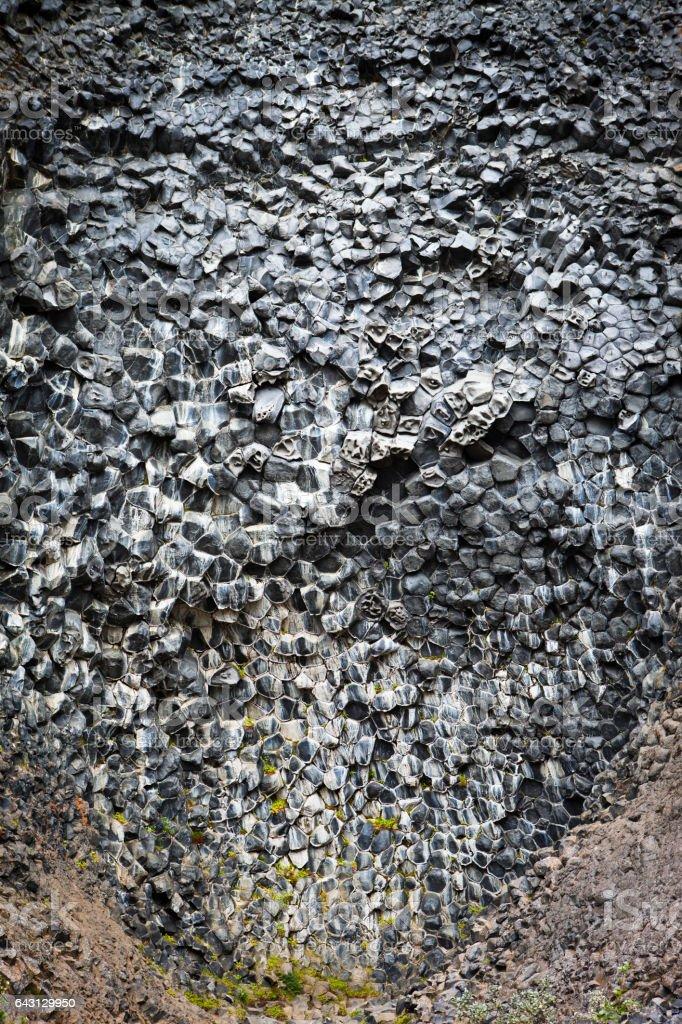 Des colonnes en basalte Hljodaklettar - Photo