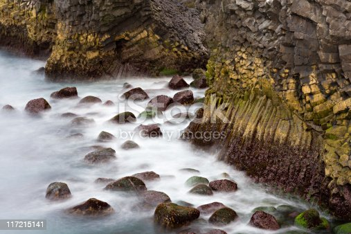 istock Basalt Formations By The Sea 117215141