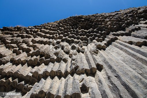 istock Basalt formations of the Garni Gorge in Armenia (so called Symphony of the Stones) 1180066042