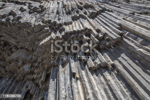 istock Basalt formations of the Garni Gorge in Armenia (so called Symphony of the Stones) 1180066705