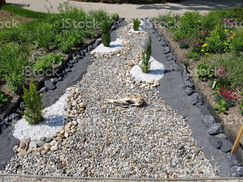 Basalt Kies Garten Stockfoto und mehr Bilder von Basalt - iStock