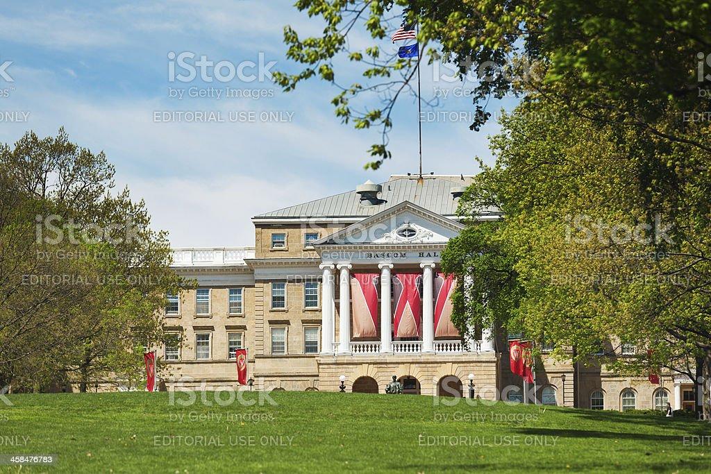 Bascom Hall, University of Wisconsin-Madison stock photo
