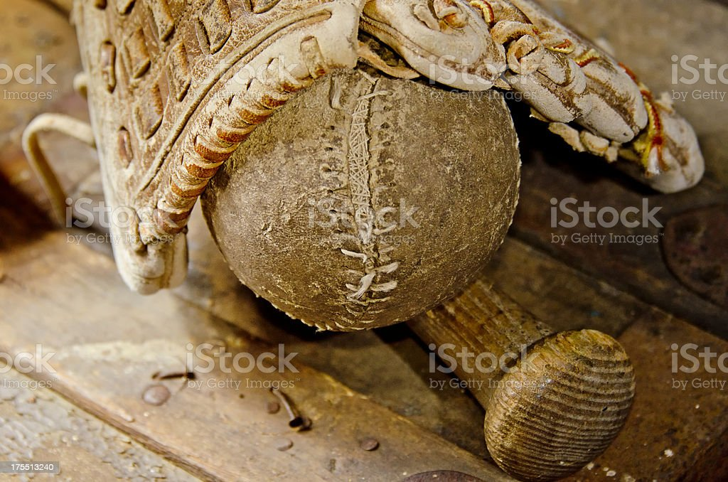 Base Ball Time royalty-free stock photo