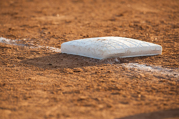 base in the dirt - spring training stock photos and pictures