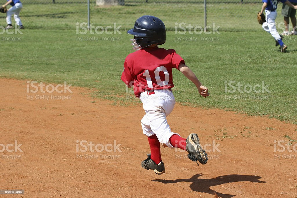 Base Runner stock photo