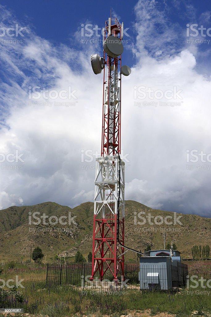 Base transceiver station stock photo