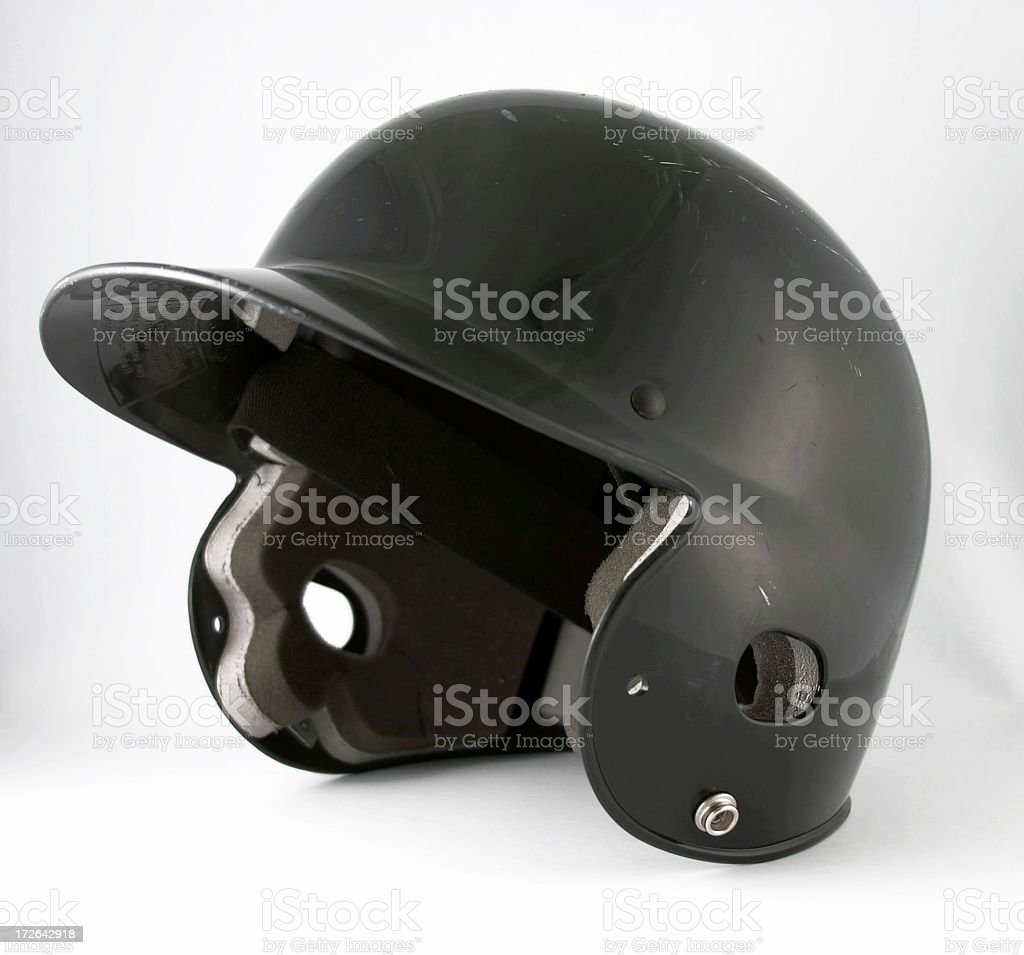 Basebal Helmet royalty-free stock photo