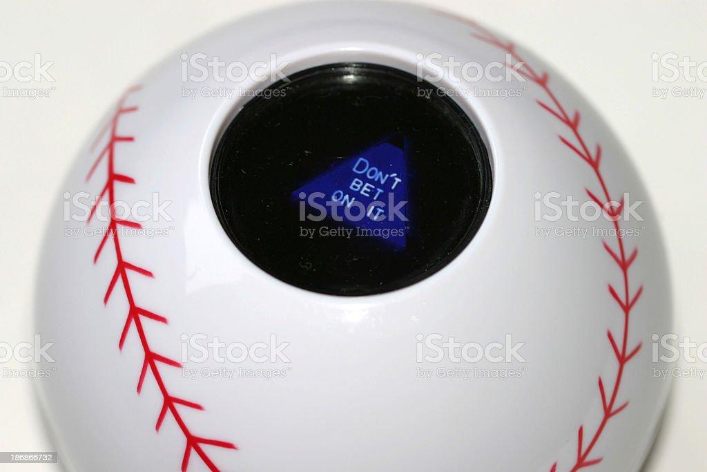 baseball advice royalty-free stock photo