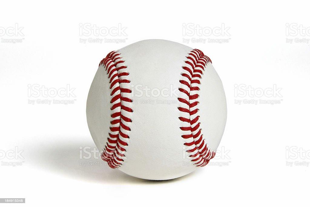 Baseball & Softball Series (on white with shadow) royalty-free stock photo