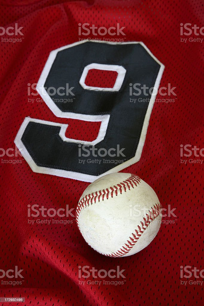 Baseball and Jersey royalty-free stock photo