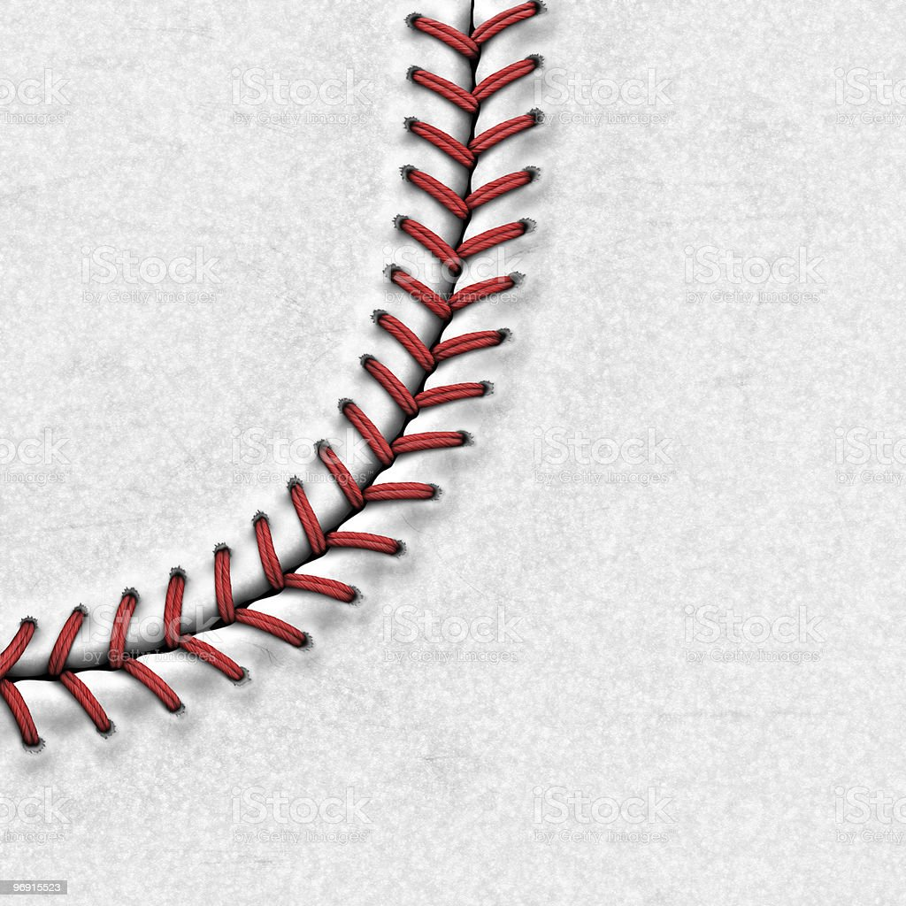 Baseball Background | Highly Detailed Texture royalty-free stock photo